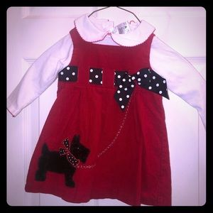 Bonnie Baby Corduroy dress
